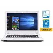Notebook Intel Acer Core I3 5015u 4gb 1tb Win10 14 Led Branc
