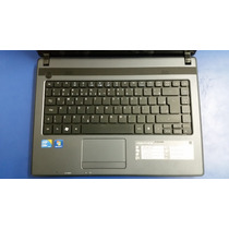 Notebook Acer Aspire 4739-6886 Intel Core I3-370m 2.4 Ghz