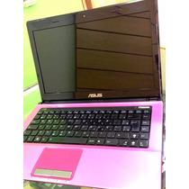 Notebook Asus K43e Rosa - Processador Intel I5/250gb/4gb