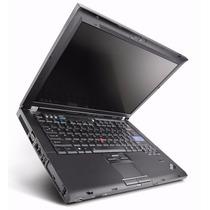 Notebook T61 Core 2 Duo 2.0 2gb Memoria Garantia 6 Meses