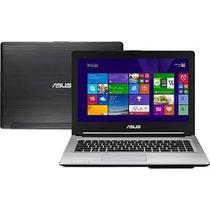 Ultrabook Asus S46cb-wx227 Intel Core I5 500gb Gefor-vitrin