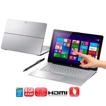 Notebook Sony Vaio I7 8gb 750gb Windows 8 Svf15n17cbs
