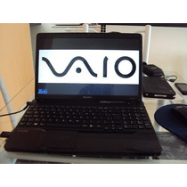 Notebook Sony Vaio 15.5 - Blu-ray Vpc-ee25fb Com Defeito.