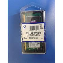 Memoria Para Notebook Kingston 512mb Ddr So-dimm 333 Pc-2700