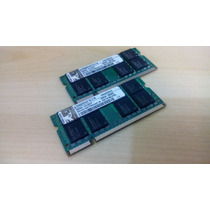 Memória Notebook Ddr2 1gb 667 Kingston - Kvr667d2s5