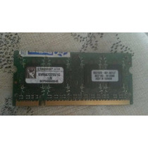 Memória Notebook Ddr2 1gb Kingston 667mhz Kvr667d2s5/1g