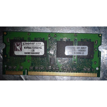 Memoria Notebook Netbook Ddr2 1gb Kingston Kvr 667 Goiania