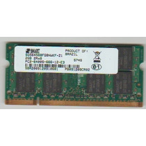Memoria Note 2gb Ddr2 Pc2 6400s 2rx8 Smart Acer Aspire 5532