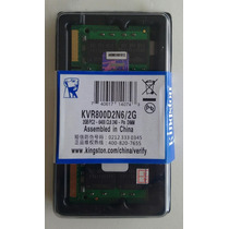 Memoria Kingston Notebook Ddr2 2gb 800mhz-lacradas