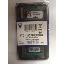 Memoria Notebook Netbook 2gb Ddr2 667 Mhz Pc2-5300 Kingston