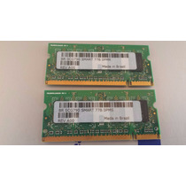 Memória Notebook Ddr2 Smart 512mb Pc2-5300s-555-12-a3 (par)