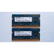 Módulo Pente De Memória El Ram 2gb 1600 Mhz Ddr3 (2 Gb Cada)