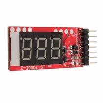 Medidor De Voltagem/bateria Lipo Com Mostrador Digital