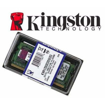 Memoria Sodimm Notebook Ddr3 2gb 1333mhz Pc3-10600 Kingston