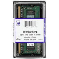 Memória Notebook Kingston 4gb 1333mhz Ddr3 Sodimm Kvr13s9s