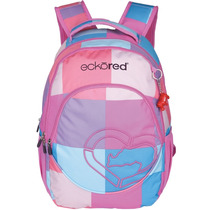Mochila Mix Color Feminina P/ Notebook 15 Polegadas Ecko