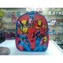 Mochila G Marvel -xeryus- Homem Aranha - Original