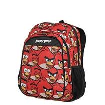 Mochila Santino Vermelha Estampada Angry Birds