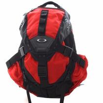 Mochila Oakley Icon 3.0 Backpack Original Preta/vermelha