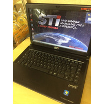 Notebook Sti 1401 Dual Core 4gb Hd 500gb