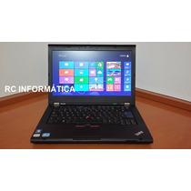 Notebook Lenovo T420 Core I5 3.2 Ghz, Memória 8 Gb, Hd 320