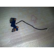Botão Power + Usb Notebook Samsung Rv411 Rv415 Rv419