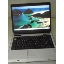 Note Toshiba A135 - S2296 Muito Novo 2gb,hd100, Grav Dvd