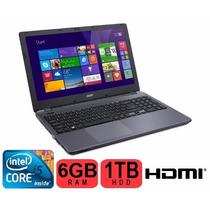 Notebook Acer Aspire E5-571-563b - 15.6 Core I5 6gb Ram
