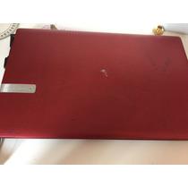 Laptop Gateway Vermelho