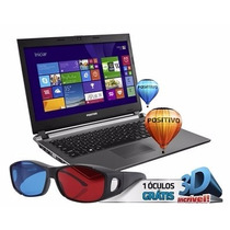 Notebook Positivo Premium S6100 Intel Core I3 Led Chumbo
