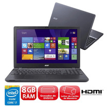 Notebook Acer Aspire E5-571-76k2 Com Intel® Core I7-4510u,