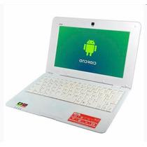 Mini Notebook Tela 10 Android 4.1 Hdmi Cam 8gb +brinde Branc