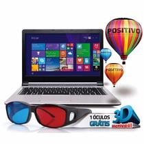 Notebook Positivo Premium, Intel Core I3, 4gb Ram, 500gb Hd