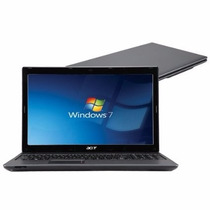 Notebook Acer 15.6 Hd Led Cinecrystal Amd C-50 4gb Hd 500gb