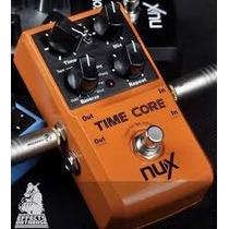 Pedal Delay/loop Nux Time Core Pronta Entrega