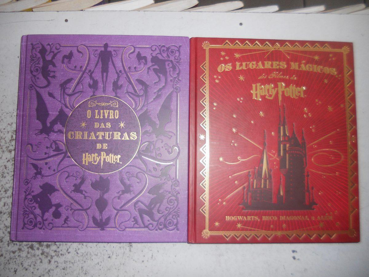 Armario Nicho Aereo ~ O Livro Das Criaturas De Harry Potter E Os Lugares Mágicos R$ 160,00 no MercadoLivre