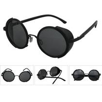 Óculos De Sol Redondos Blinder Retrô Vintage Lennon Ozzy