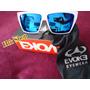 Óculos De Sol Evoke Evk ( Importado) Branco E Azul