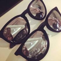 Óculos De Veludo Espelhado Preto Perfeito Carnaval 2016