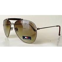 Oculos Tommy Hilfiger De Sol Original Novo Estilo Aviator