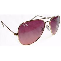 Óculos Rayban Aviador Feminino Polarizado Frete Gratis