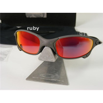 Oakley Juliet X- Metal 100% Fosco Polarized + Lente Brinde