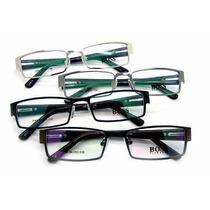 Armação Para Óculos De Grau Masculina Preta Promoção!!!