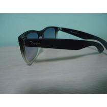 Óculos 4165 Wayfarer Justin Preto Fosco Transparente Ddê