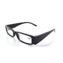 Óculos Para Leitura Com Led Em Ambas As Hastes-preto