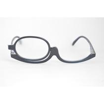 Óculos De Grau P/ Maquiagem Preto Facilidade Fem +3,5 B76