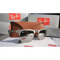 Ray Ban Rayban Clubmaster Aluminium Rb3507 Aviador + Brinde