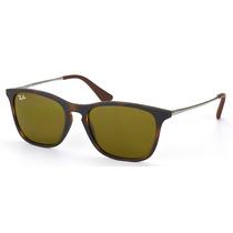 Óculos De Sol Ray Ban Chris Infantil Rj9061s 7006/73 - 49 Mm