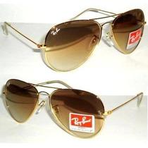 Óculos 3024 P Dourado Lentes Marrom Degradê Frete Gratis !!