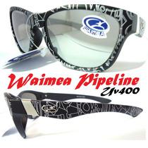 Óculos De Sol Original Waimea Tribal Lentes Uv400 Espelhadas